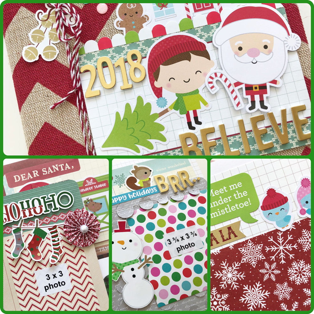 2018 Scrapbook & Cards Today - Believe Album Kit