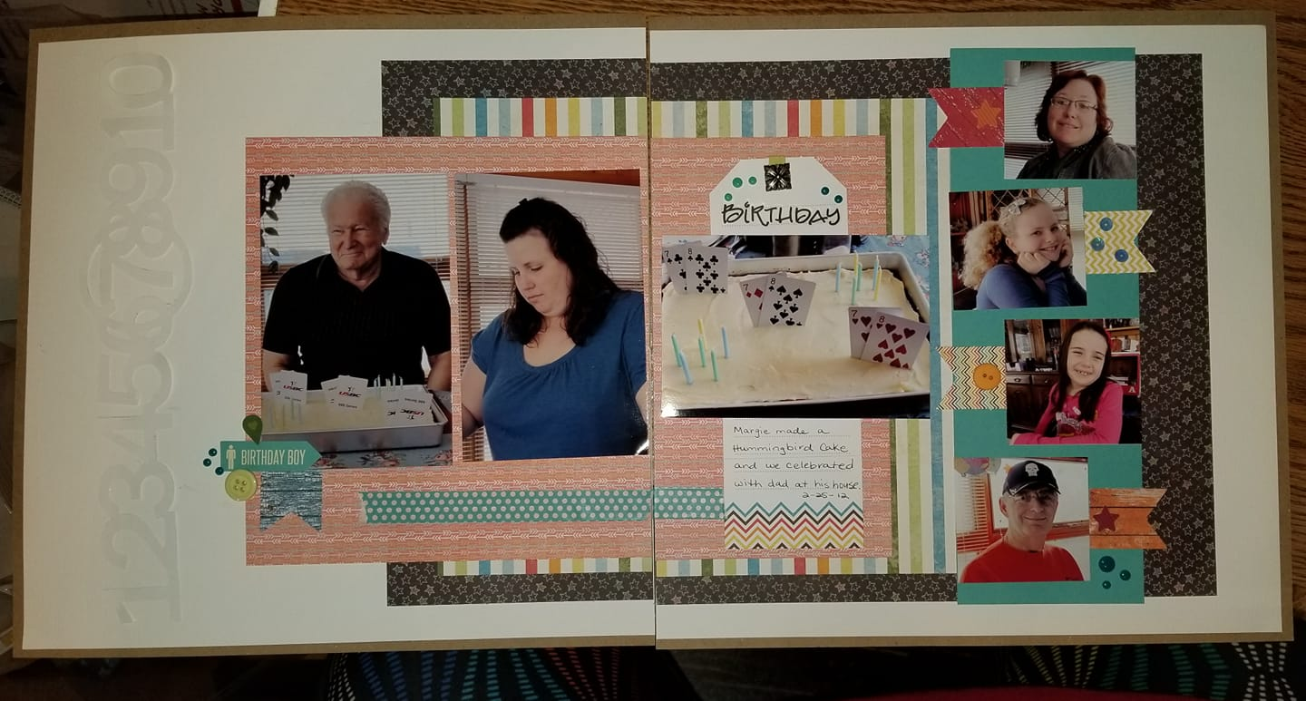 Layout by Kathy Hutson Carr
