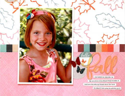 Lisa Dickinson features our new Autumn Splendor kit!