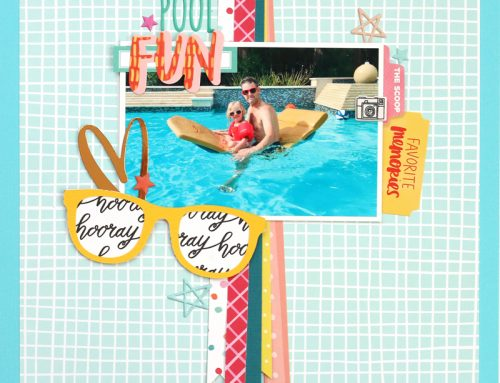 A Picnics and Popsicles Kit Layout Dissected with Meghann Andrew!