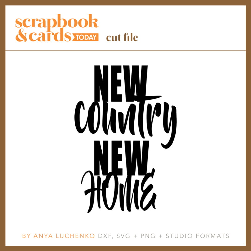 SCT Magazine - New Country New Home Cut File