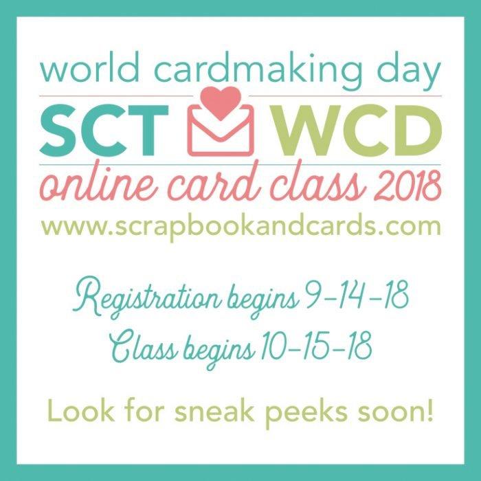 SCT World Cardmaking Day 2018 Online Class