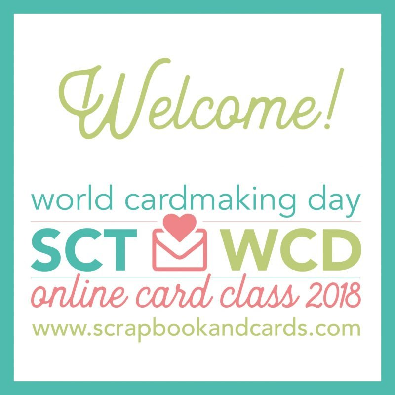 Welcome - World Card Making Day 2018