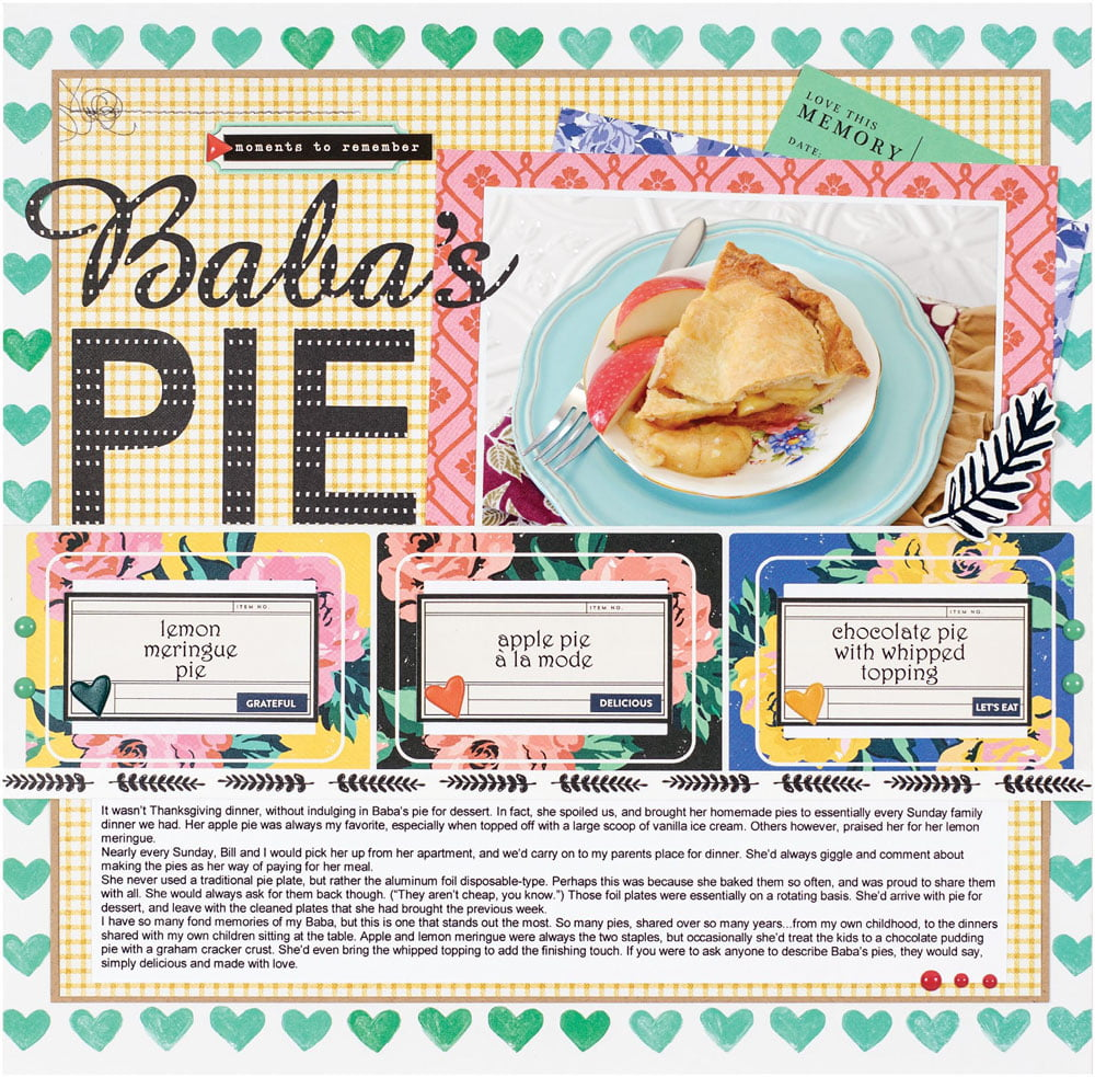 SCT Fall 2018 - Baba's Pie by Sheri Reguly