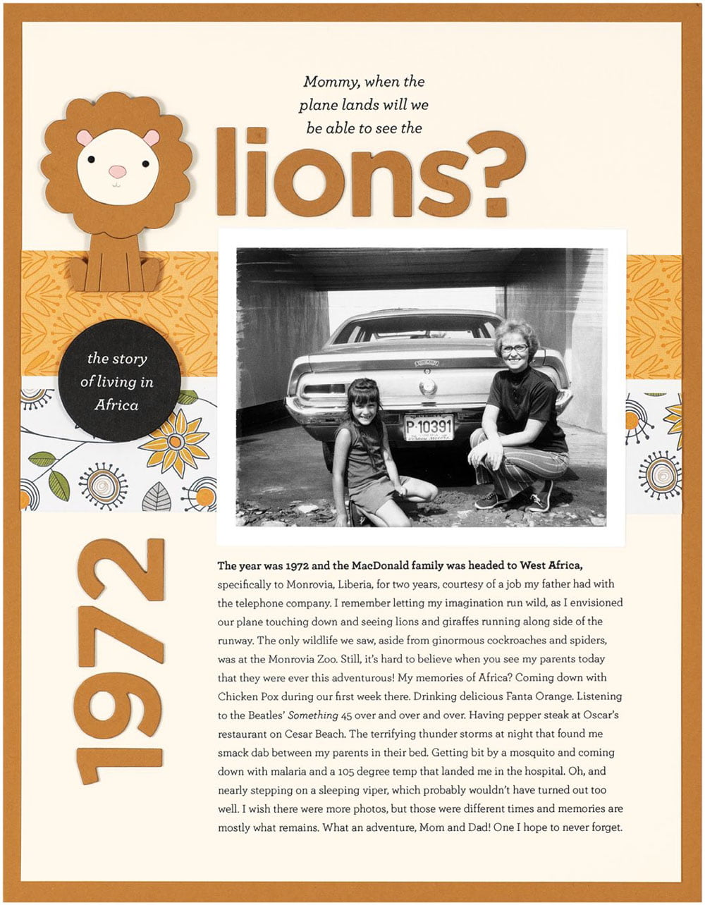 SCT Fall 2018 - Will We Be Able To See The Lions by Cathy Zielske