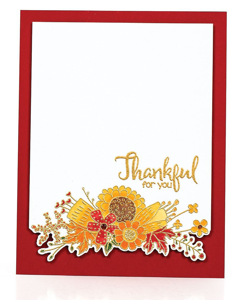 SCT Fall 2018 - Thankful For You by Lisa Addessa