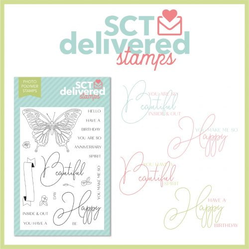 SCT Delivered Stamps - Celebration