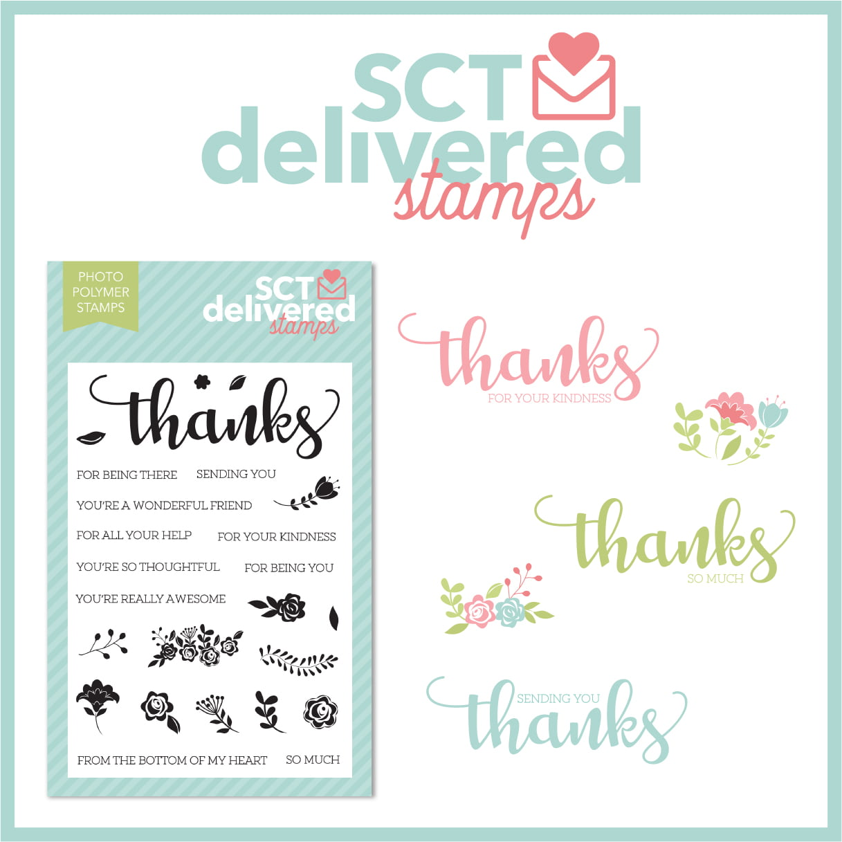 SCT Delivered Stamps - Gratitude