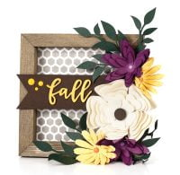 Fall Frame by Jen Gallacher for Scrapbook & Cards Today