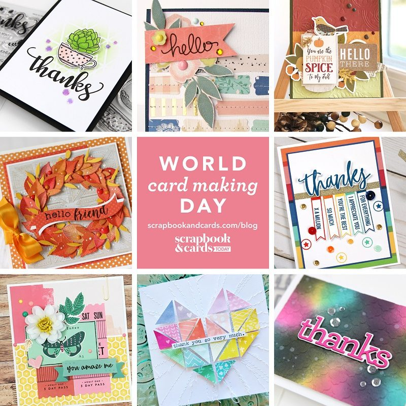 World Card Making Day graphic