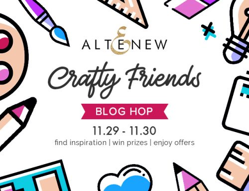 Altenew Crafty Friends Blog Hop Day 2 + Giveaway