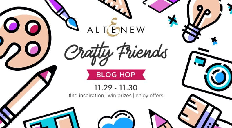 Altenew Friends Blog Hop Graphic