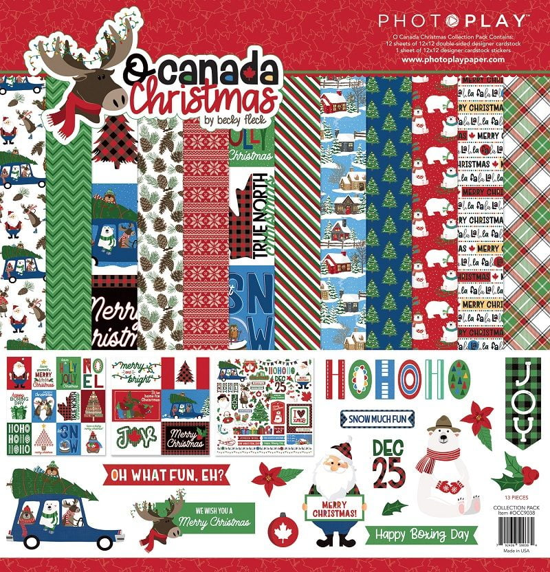 O Canada Christmas from Photoplay Paper