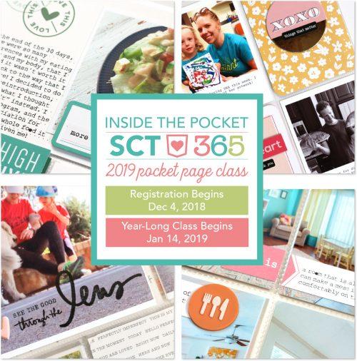 SCT 365 2019 Inside The Pocket Online Class Logo