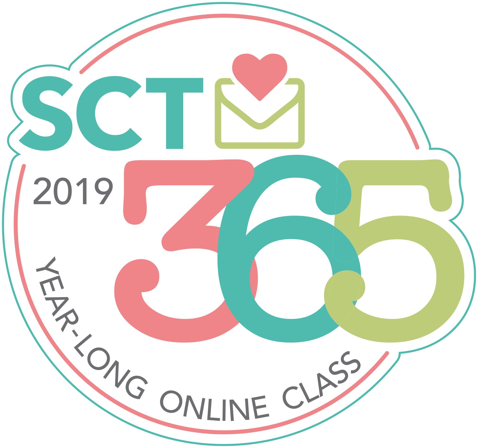 SCT 365 2019 Layout Online Class Logo