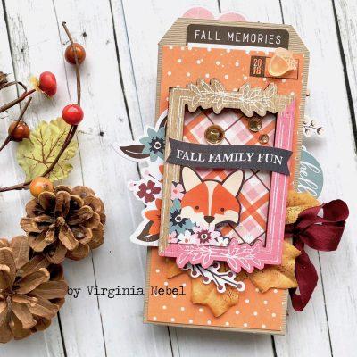 Virginia Nebel for Scrapbook & Cards Today Nov 18
