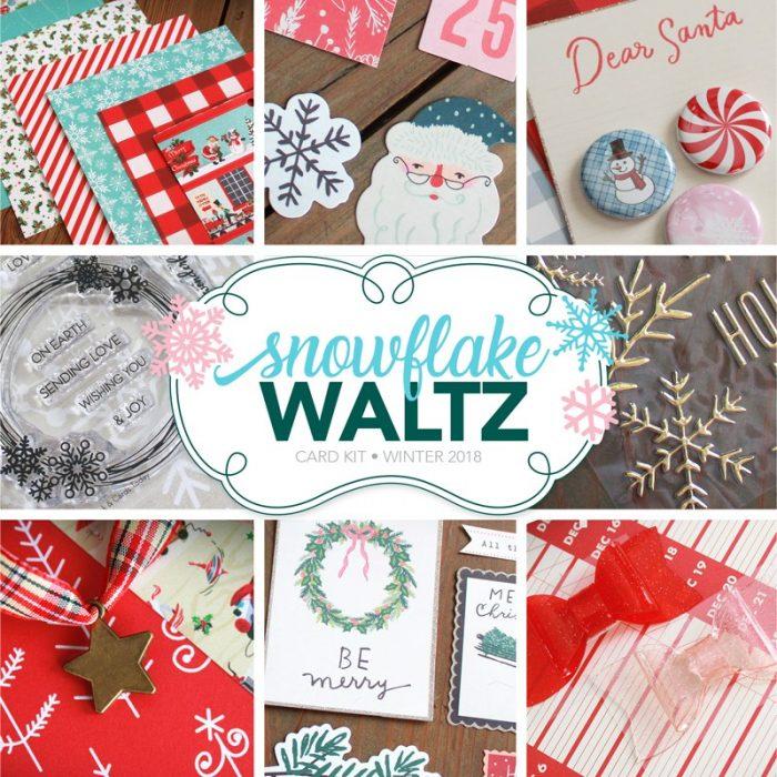 Snowflake Waltz Card Kit