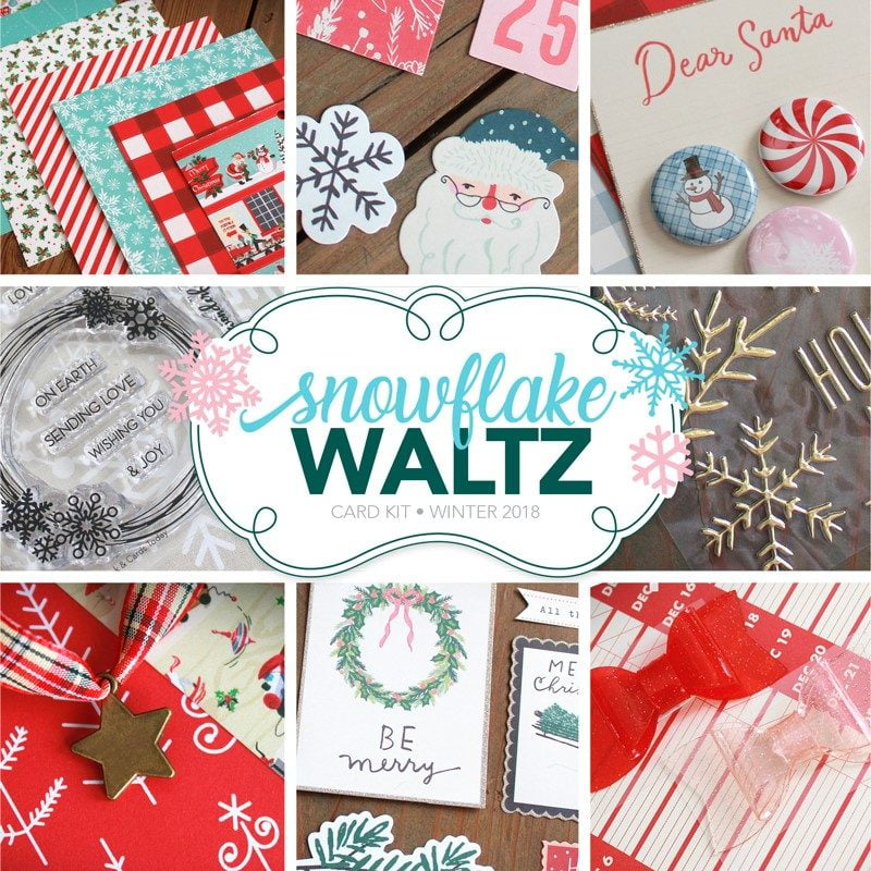 Snowflake Waltz Card Kit