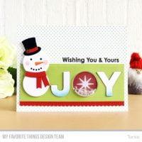 JOY Die Cut Card by Torico for My Favorite Things