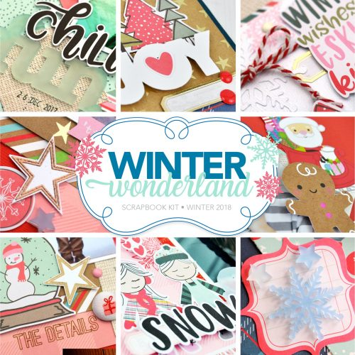 Winter Wonderland Scrapbook Kit