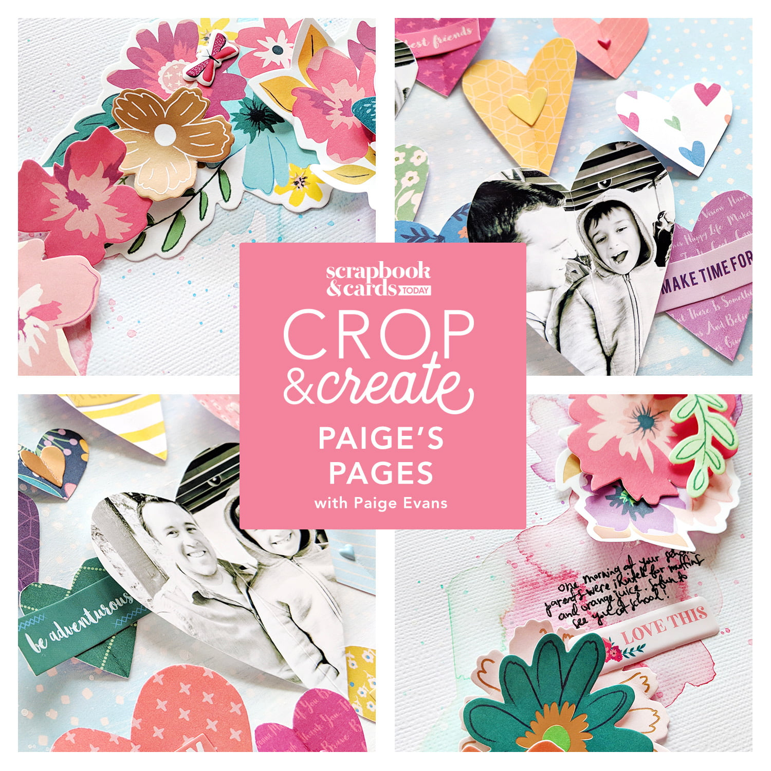 Crop & Create - Paige's Pages with Paige Evans