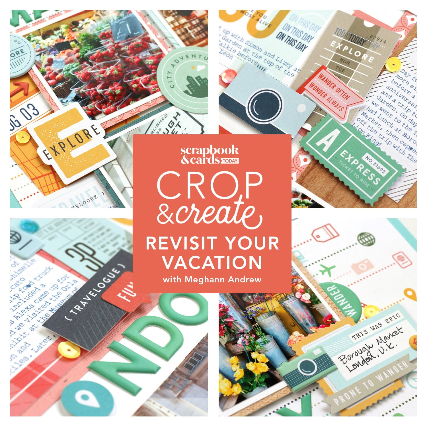 Re-Visit Your Vacation with Meghann Andrew