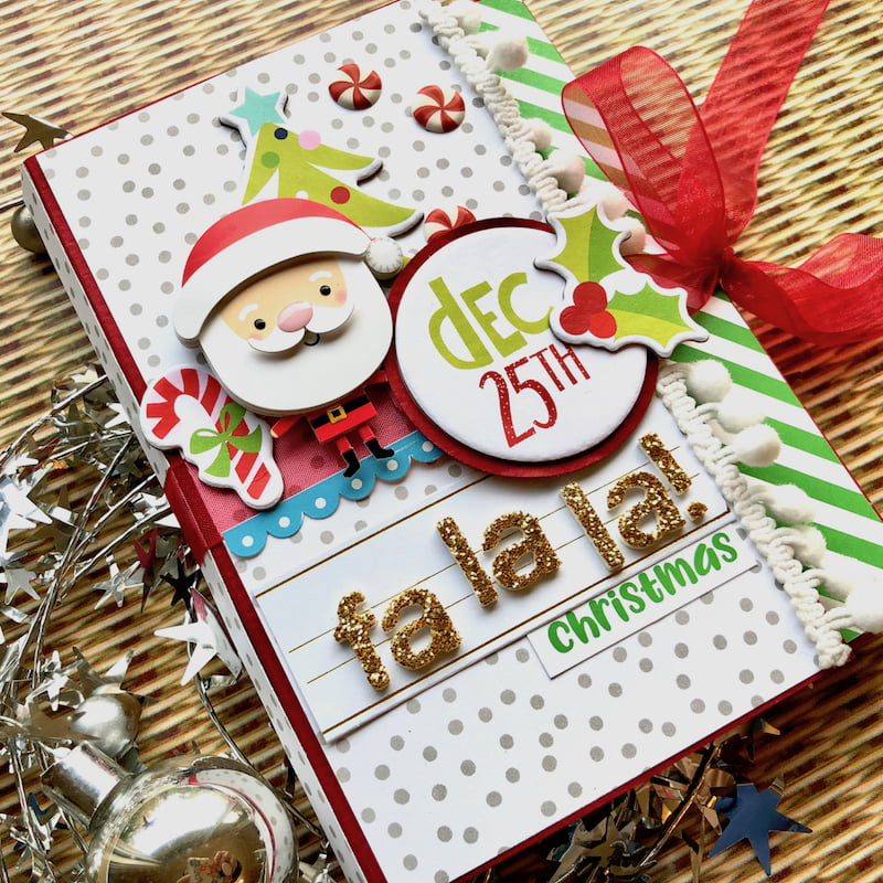 Christmas Card-o-lope by Virginia Nebel for Scrapbook & Cards Today magazine