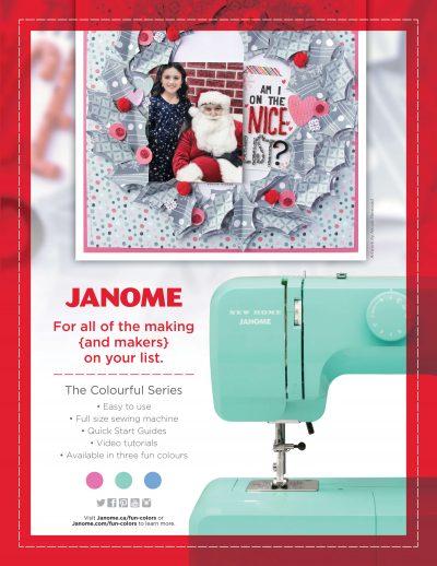 Janome | SCT Winter 2018