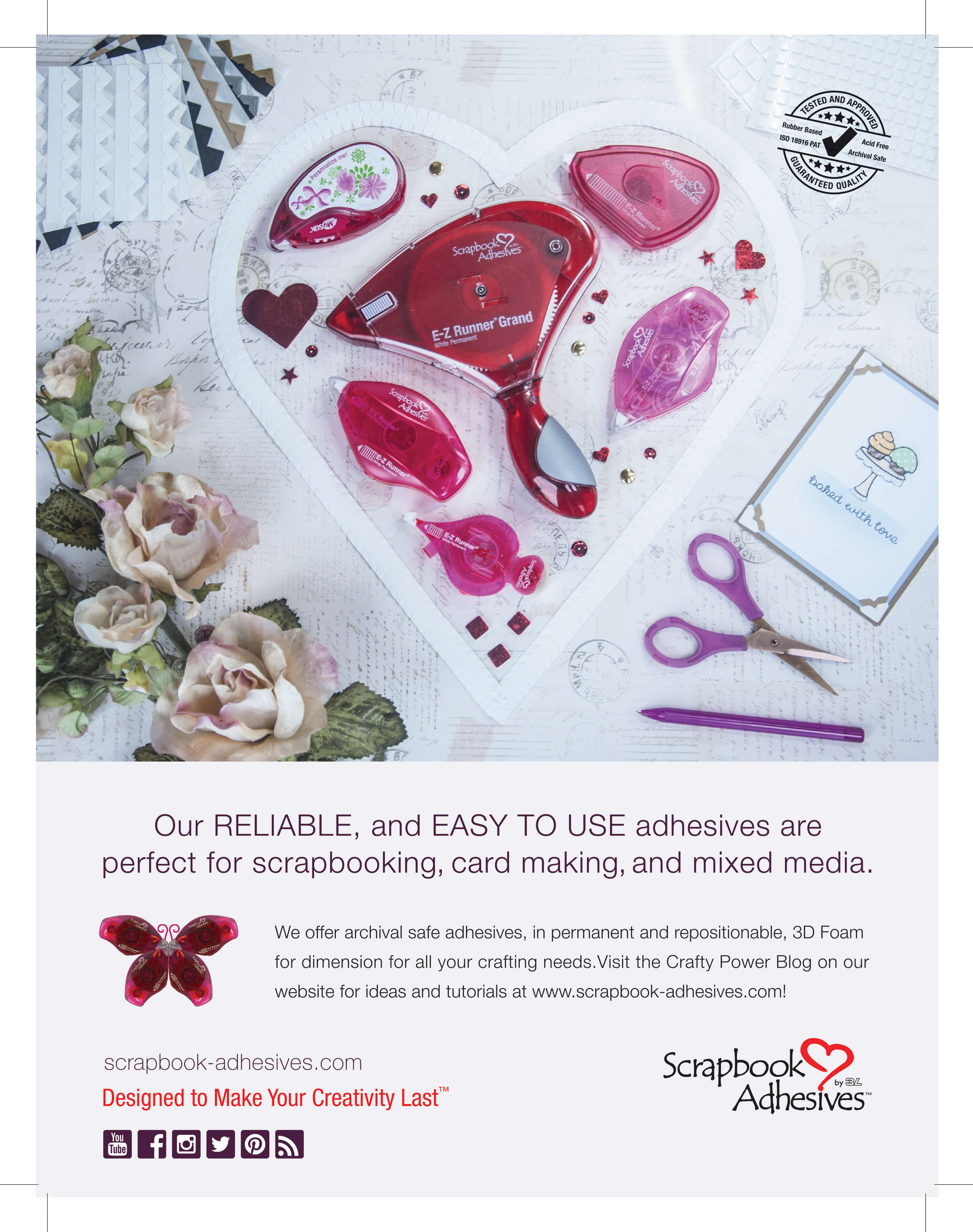 Scrapbook Adhesives | SCT Winter 2018