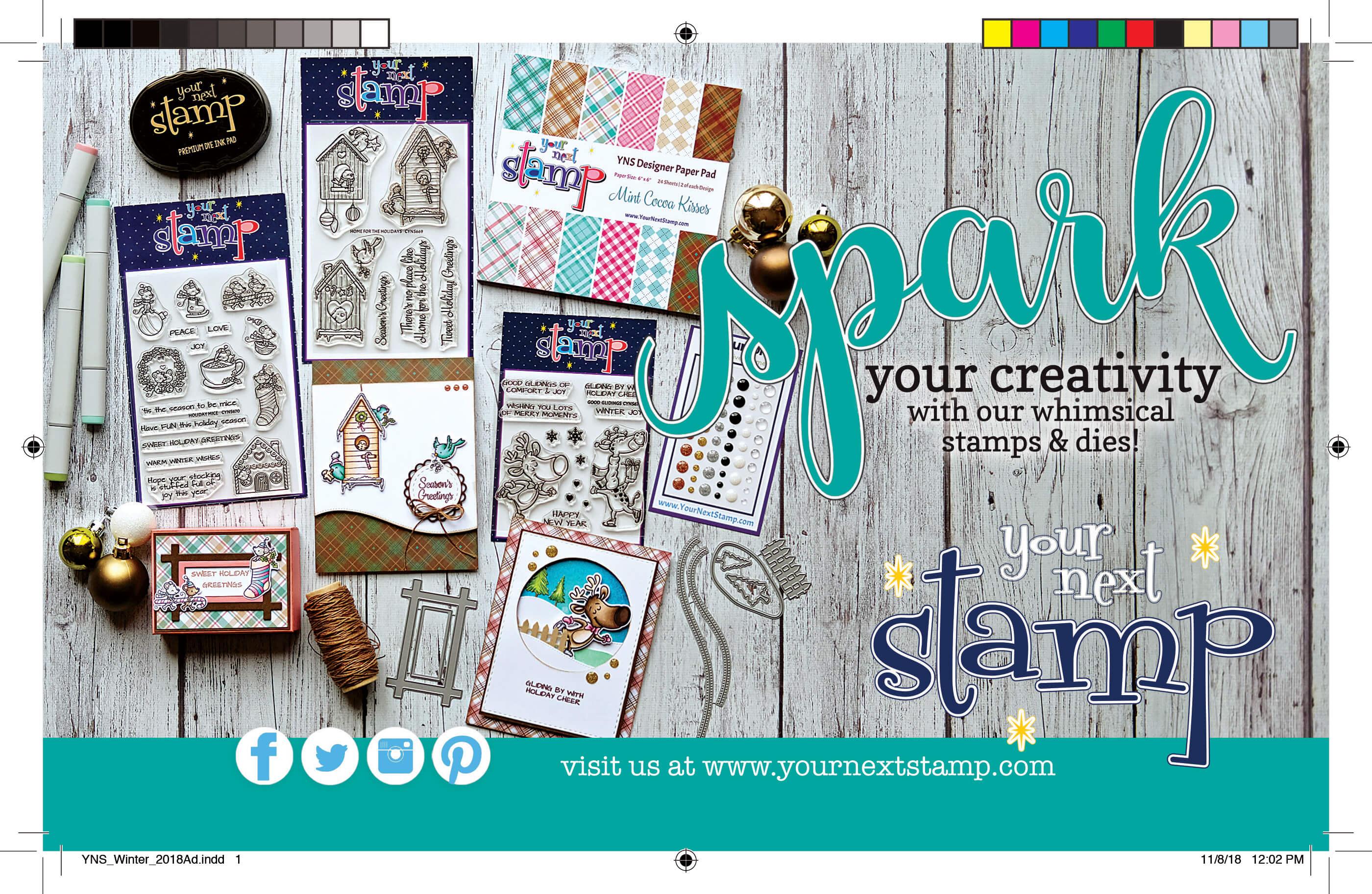 Your Next Stamp | SCT Winter 2018
