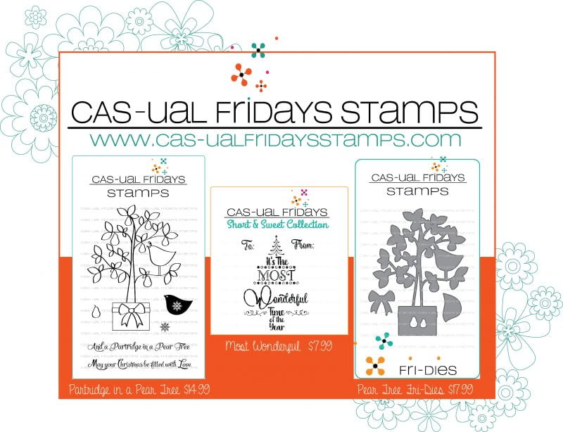 CAS-ual Fridays giveaway