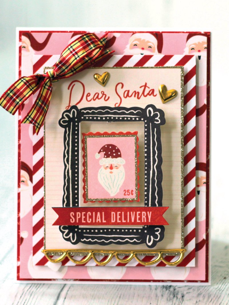 SCT Delivered Kit - Winter 2018 Snowflake Waltz - Card by Latisha Yoast