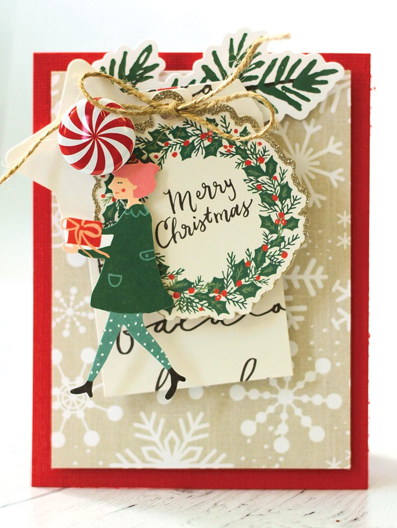 SCT Delivered Kit - Winter 2018 Snowflake Waltz - Card by Latisha Yoast