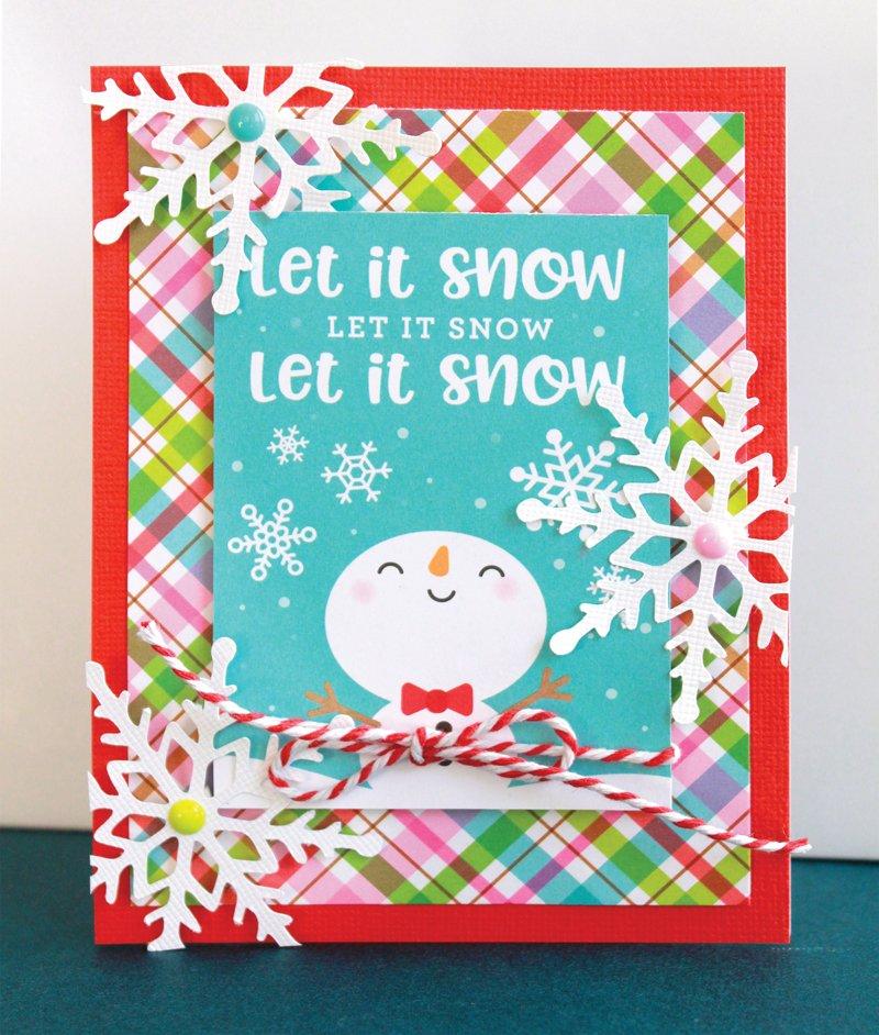 SCT Delivered Kit - Winter 2018 Winter Wonderland - Card by Lisa Dickinson