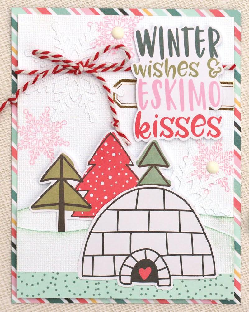 SCT Delivered Kit - Winter 2018 Winter Wonderland - Card by Meghann Andrew