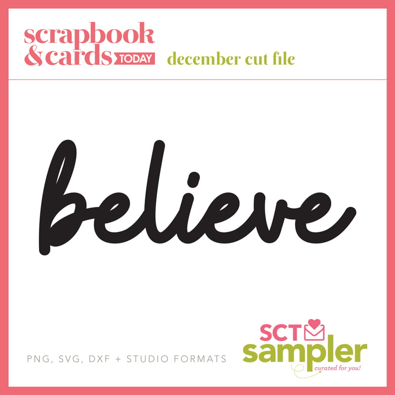 SCT Sampler December 2018 Cut File