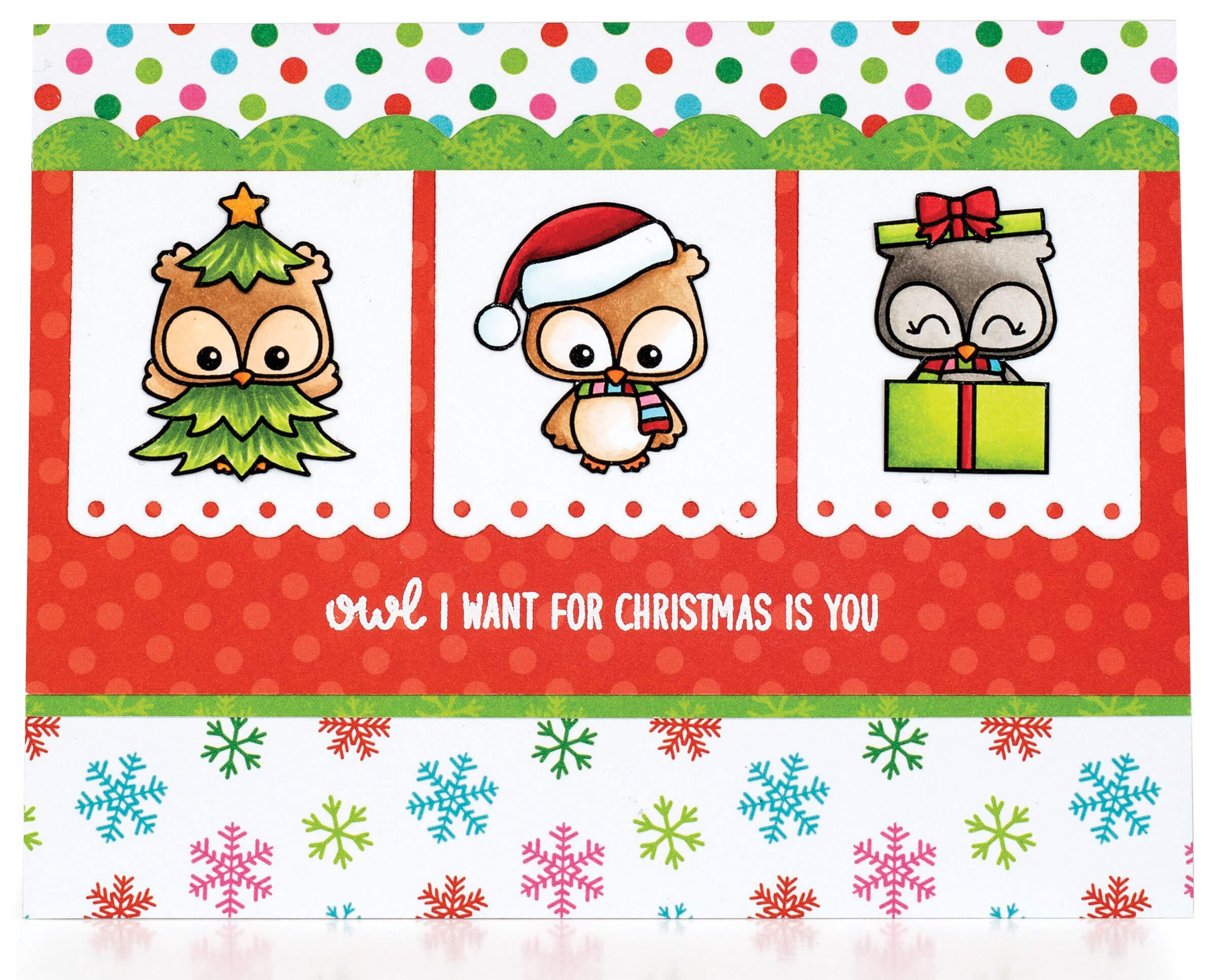 SCT Winter 2018 - Owl I Want For Christmas by Mendi Yoshikawa