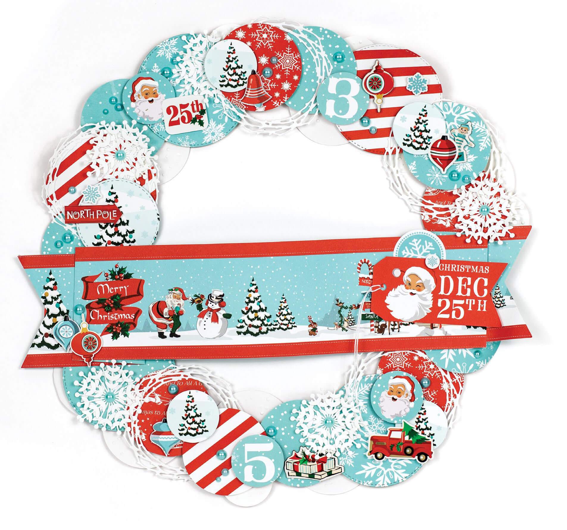 SCT Winter 2018 - Dec 25th Wreath by Anya Lunchenko
