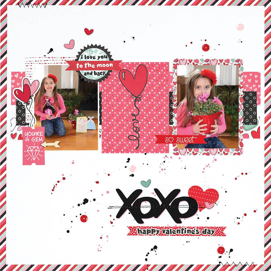 SCT Winter 2018 - XOXO Happy Valentines Day by Aimee Kidd