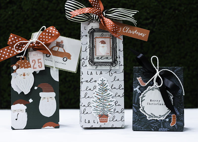 Gift Bags by Latisha Yoast for Scrapbook & Cards Today magazine