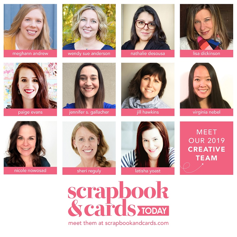 2019 Creative Team Scrapbook & Cards Today