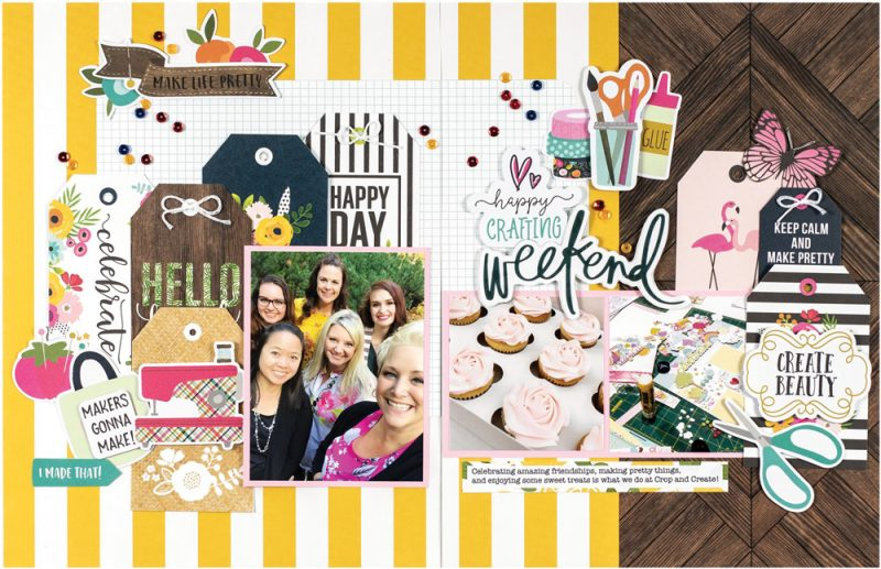 Happy Crafting Weekend by Virginia Nebel for Scrapbook & Cards Today