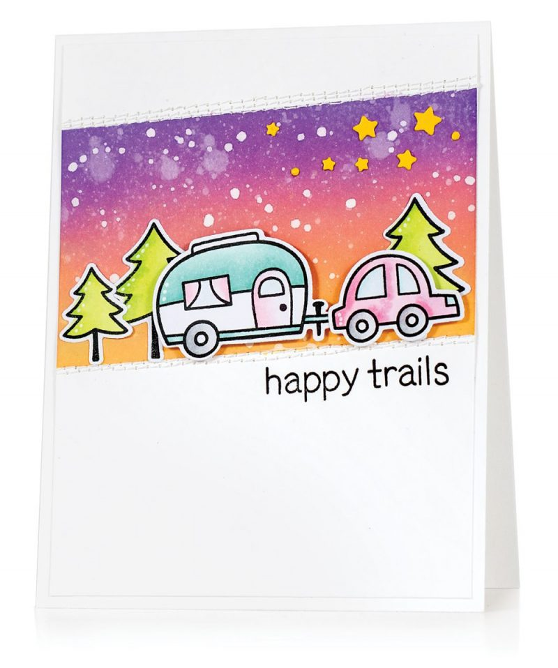 Happy Trails by Jill Dewey Hawkins for Scrapbook & Cards Today