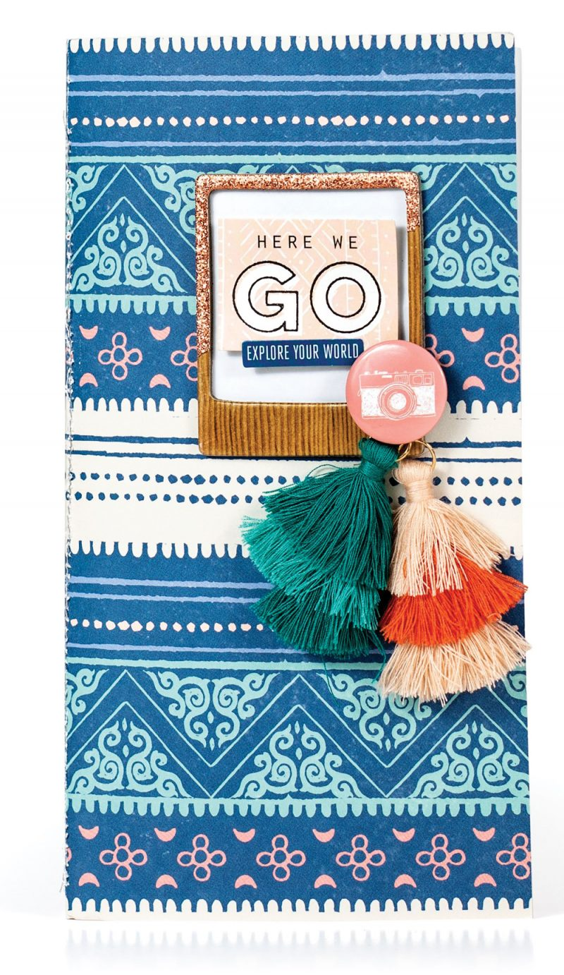 Here We Go by Nathalie DeSousa for Scrapbook & Cards Today