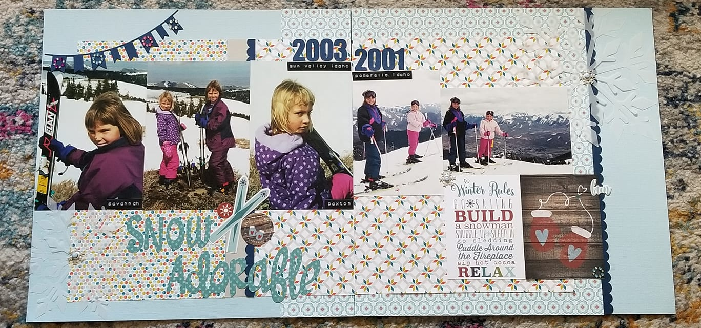 Layout by Cindy Knickerbocker