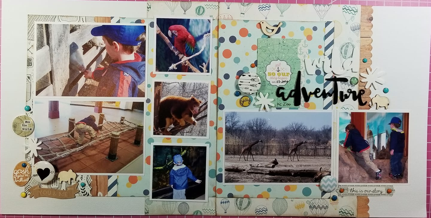 Layout by Lissa Mitchell