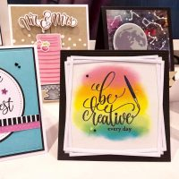 Be Creative card from Gina K Designs