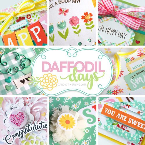Daffodil Days Card Kit by Scrapbook & Cards Today