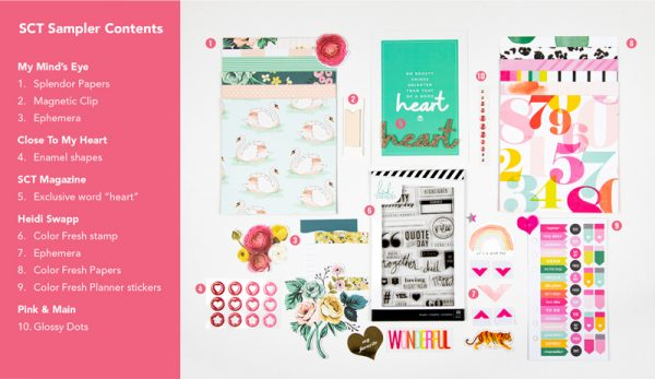 SCT Sampler February 2019 Products