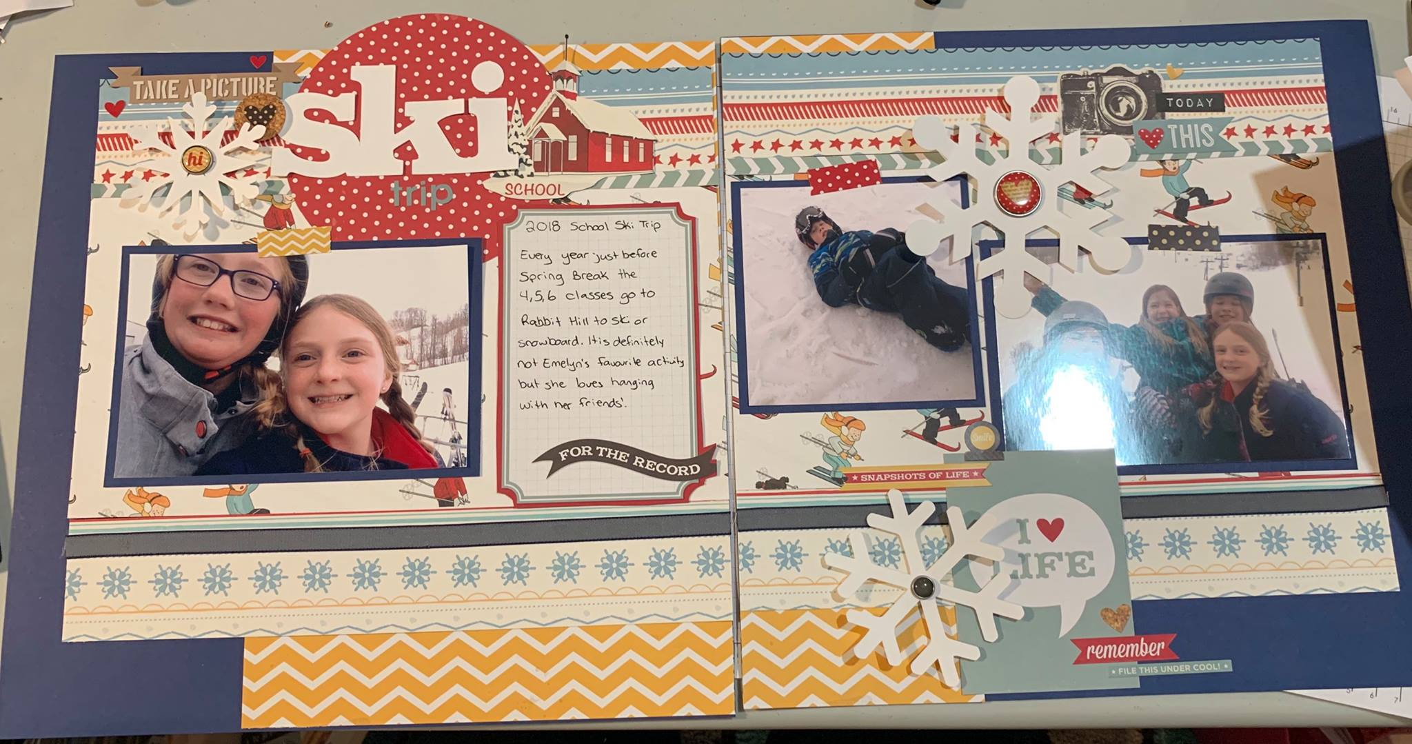Layout by Kim Cheladyn
